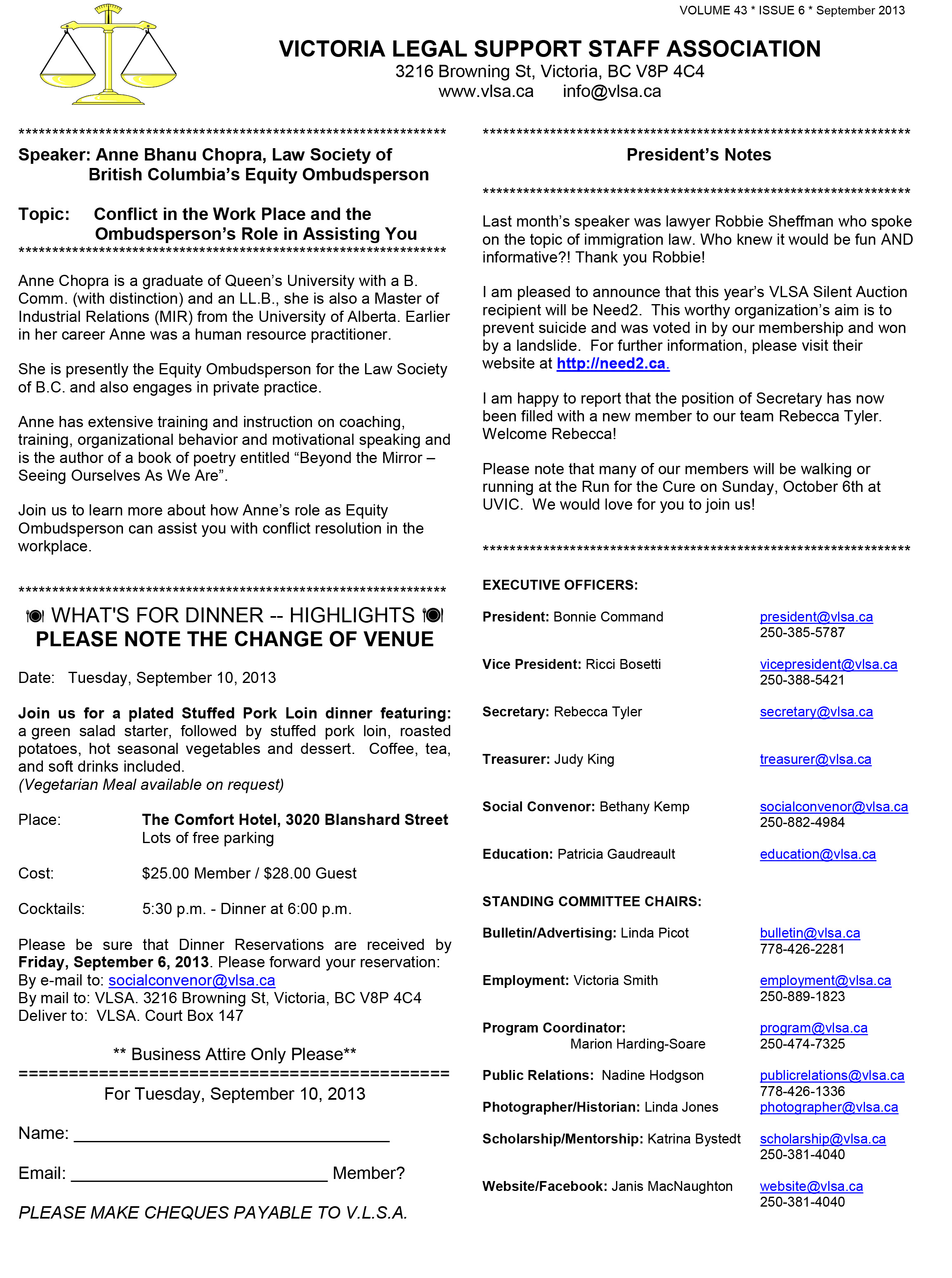 Microsoft Word - Sept bulletin - DRAFT